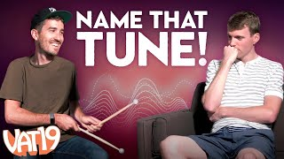 Can You Name 8 Famous Beats… Played on Invisible Drums?!