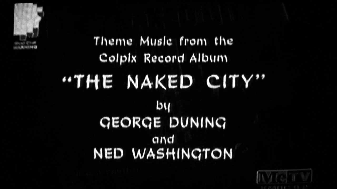 The Naked City Ending Theme Songs 1958-1959  1960-1963