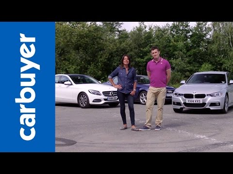 Mercedes C-Class vs BMW 3 Series vs Audi A4 - Carbuyer