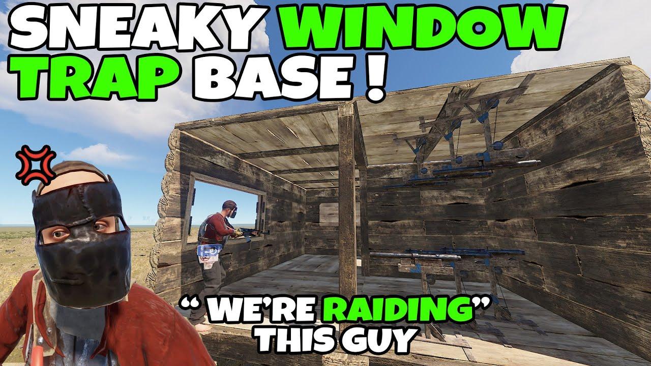 RUST | SNEAKY WINDOW TRAP BASE still SUPER EFFECTIVE !