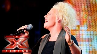 Katie Coleman makes Grimmy's heart feel funny | Auditions Week 3 | The X Factor UK 2015