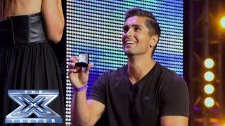 David and Lauren's Near-Perfect Proposal - THE X FACTOR USA 2013 thumbnail