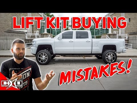 Rookie Mistakes When Lifting Your Truck!