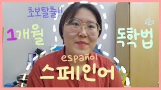 스페인어 한 달 독학하고 기초 탈출하는 공부법 ✏ |…