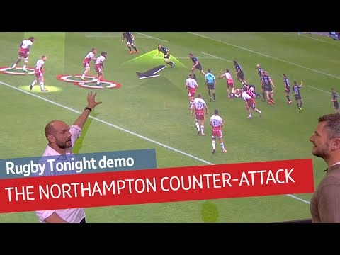 Rugby Tonight Demo: Northampton's lethal counter-attack explained