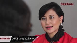 Ratih Darmawan Gianda Director of Samsonite Indonesia