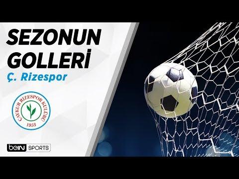 Süper Lig'de 2018-19 Sezonu Golleri   Ç. Rizespor
