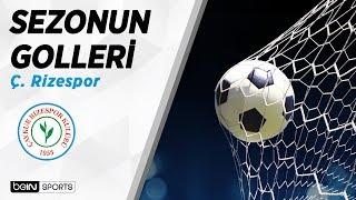Süper Lig'de 2018-19 Sezonu Golleri | Ç. Rizespor