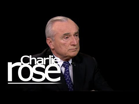 Bill Bratton on De Blasio and the NYPD (Jan. 13, 2015) | Charlie Rose