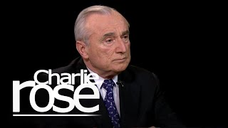 Bill Bratton on De Blasio and the NYPD (Jan. 13, 2015)   Charlie Rose