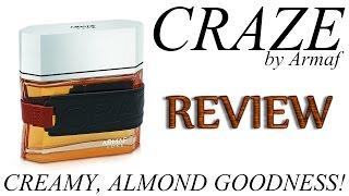 This is my review for Craze by Armaf. A nice, creamy almond + vanil...