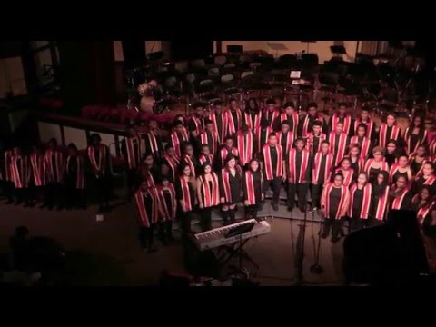 """""""Let There Be Peace on Earth"""" - Lindblom Combined Choirs"""