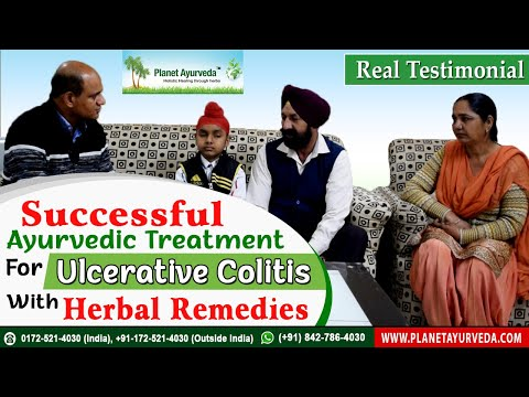 Successful Ayurvedic Treatment for Ulcerative Colitis with Herbal Remedies