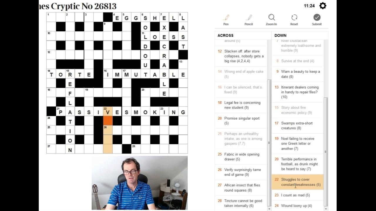 Essay byline crossword