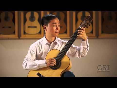 """Antonio Ruiz Pipo's """"Cancion y Danza No. 1"""" performed by Way Lee on a 2011 David Whiteman"""