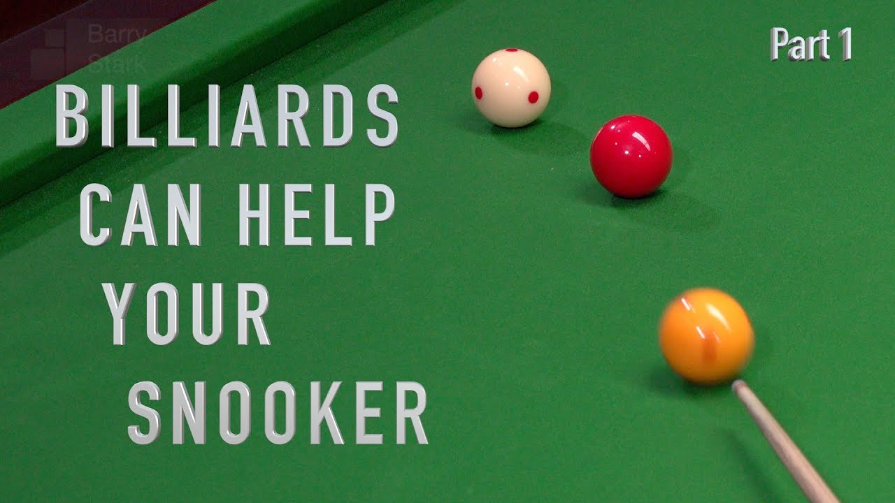 122. Billiards - Can help your Snooker. Part1 - YouTube