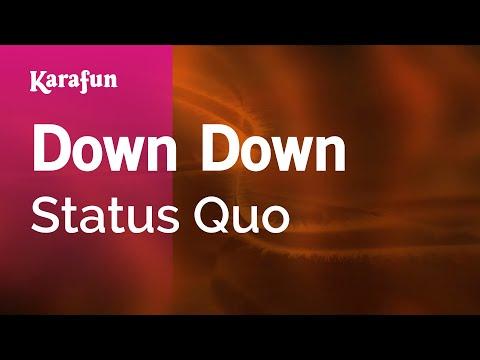 Karaoke Down Down - Status Quo *