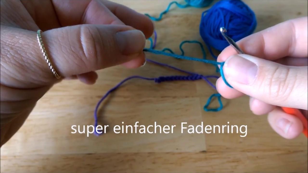 Super Einfacher Fadenring Magic Ring Der Jeder Schon Kann
