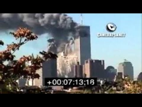 2 World Trade Center 9/11 Demolition South Tower compilation #1