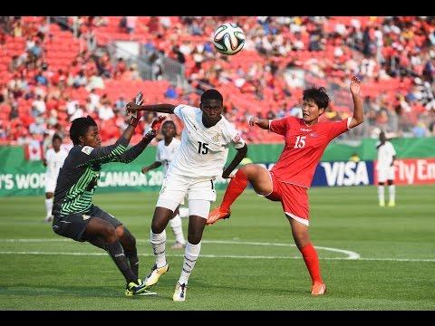 Ghana v. Korea DPR, Canada 2014 HIGHLIGHTS