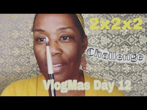 VLOGMAS DAY 12/ GLAMMAS  FEATURING: 2 TOOLS, 2 PRODUCTS ( FENTY BEAUTY & JACKIE AINA) AND 2 MINUTES
