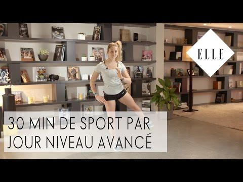 30 minutes de sport par jour - Niveau Avancé I ELLE Fitness & Marine Leleu