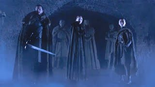 Game of Thrones | Season 8 | Official Tease: Crypts of Winterfell (HBO) - React