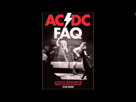 Rock Author Susan Masino. AC/DC FAQ: All That