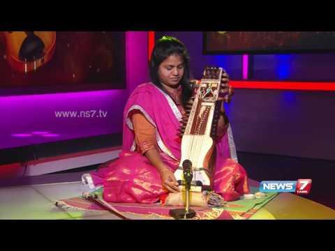 'Sarangi' Manonmani in World Music day special 1/2 | Super Housefull | News7 Tamil