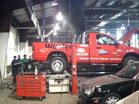 Wyo Tech Blairsville Pullin Truck 4