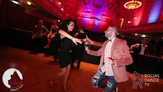 Rok Cerkvenik & Sophia Adalis - Salsa social dancing   Grazy Salsa Festival 2018