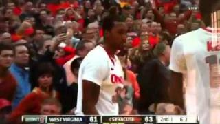 West Virginia hosed by Syracuse goaltending NO CALL thumbnail
