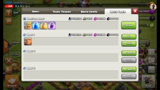 Clash Of Clans Live| Shutouts! 40th Vid And Captains Log Day 5