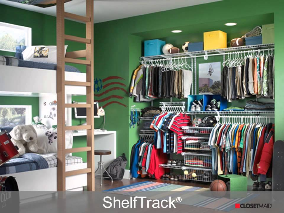 diy bedroom closet systems and solutions from closetmaid - youtube