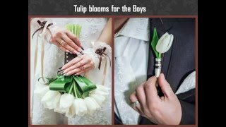 Add tulips to your spring wedding in these chirpy ways