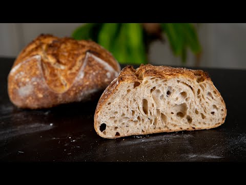 easy-sourdough-bread-recipe-|-tartine-basic-country-bread