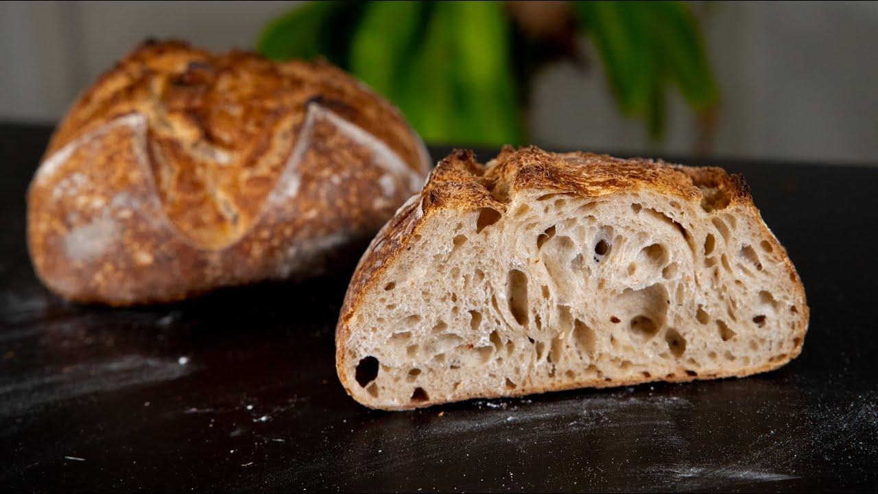 EASY SOURDOUGH BREAD RECIPE | TARTINE BASIC COUNTRY BREAD