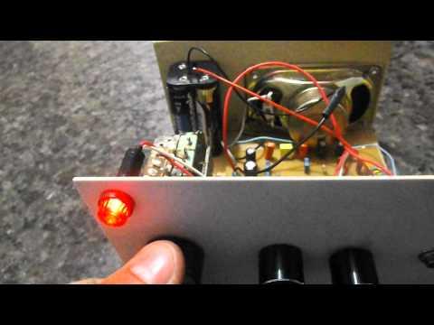 Receptor de ondas curtas caseiro com CXA1019p