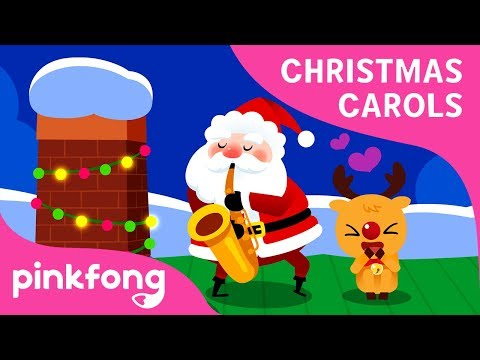 Santa Comes Down Chimneys | Christmas Song | Carol for Kids | Pinkfong Songs for Children