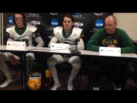 NCAA Division III football: St. Norbert College post-game press conference