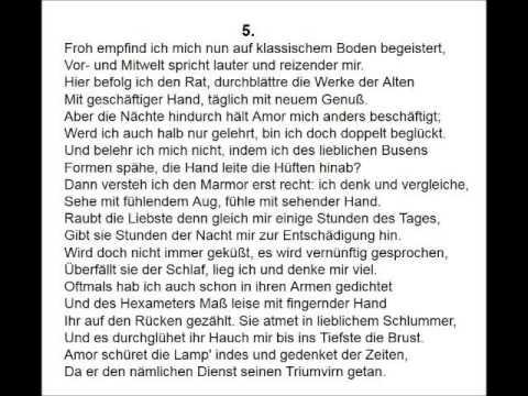 Gert Westphal liest Johann Wolfgang von Goethe YouTube Hörbuch Trailer auf Deutsch