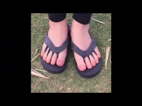 Five toe spread sandal, Yoga sandal