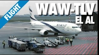 Flight Report: Warsaw - Tel Aviv with El Al