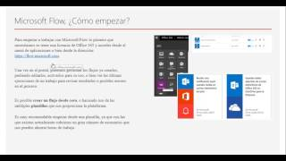Power Apps y Microsoft Flow