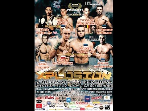 Xplosion Fight Series 09.05.2015 @Tallinn Arena advertisement