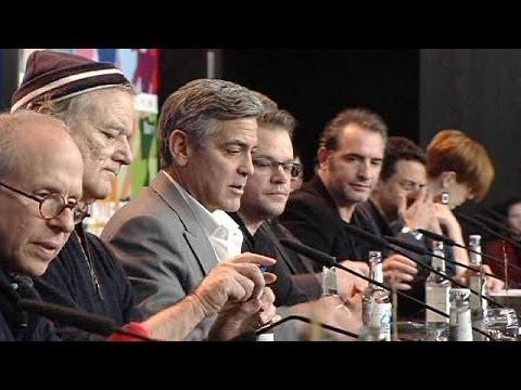 George Clooney talks marbles - Elgin Marbles at Berlinale
