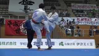 【新極真会】第2回全北陸空手道選手権大会 軽量級準決勝2   SHINKYOKUSHINKAI KARATE
