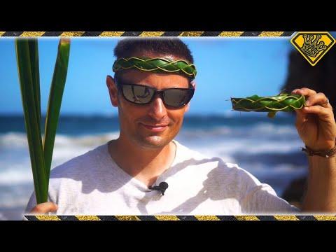 How To Make A Palm Leaf Headband