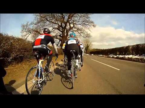 Stone Wheelers TLI Road Race on board with John Potts. Lyme Racing Club.