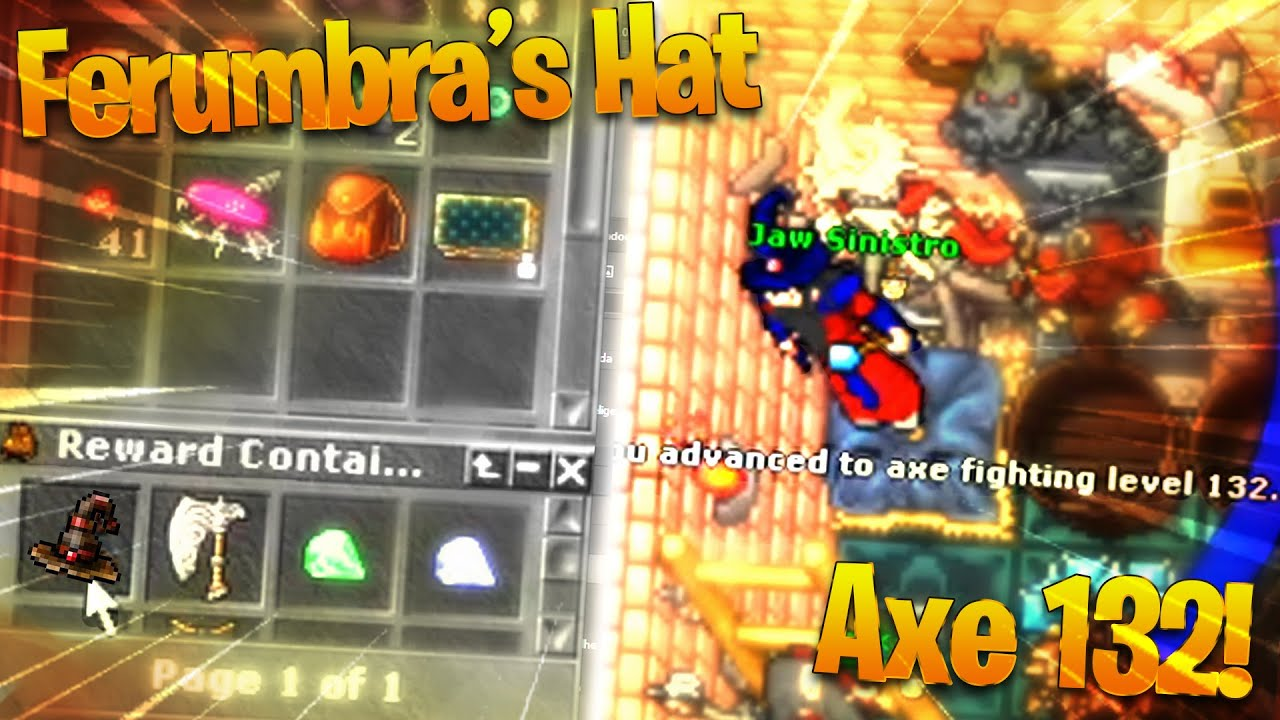 PLAYER WITH 892K OF TIBIACOINS! 🤑 and LOOTING FERUMBRA'S HAT - TibiaClips #TibiaFerumbrinha🧙